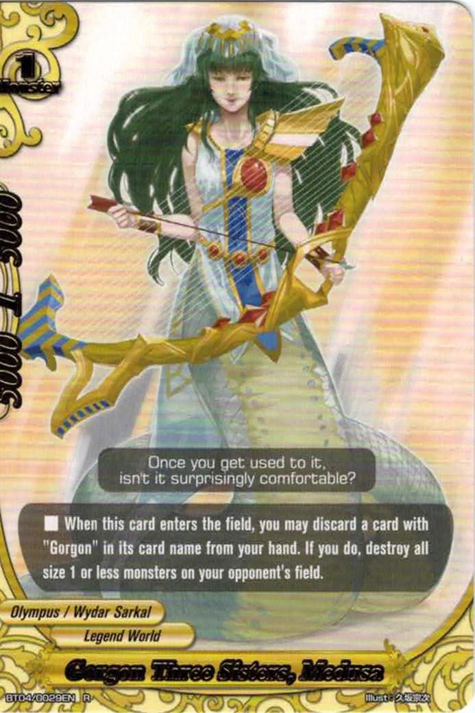 Gorgon Three Sisters Medusa Future Card Buddyfight Wiki