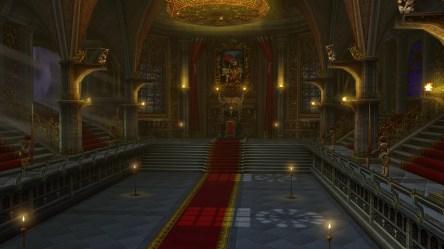 Dark Fantasy Castle Throne Room