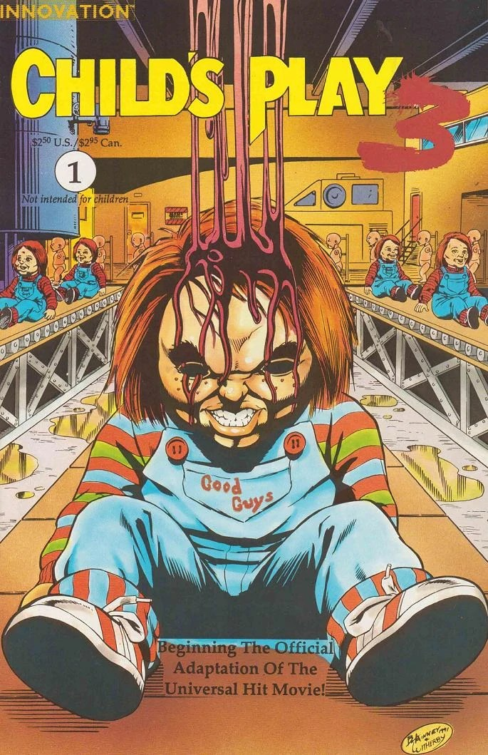 Childs Play 3 Comic Series Childs Play Wiki FANDOM