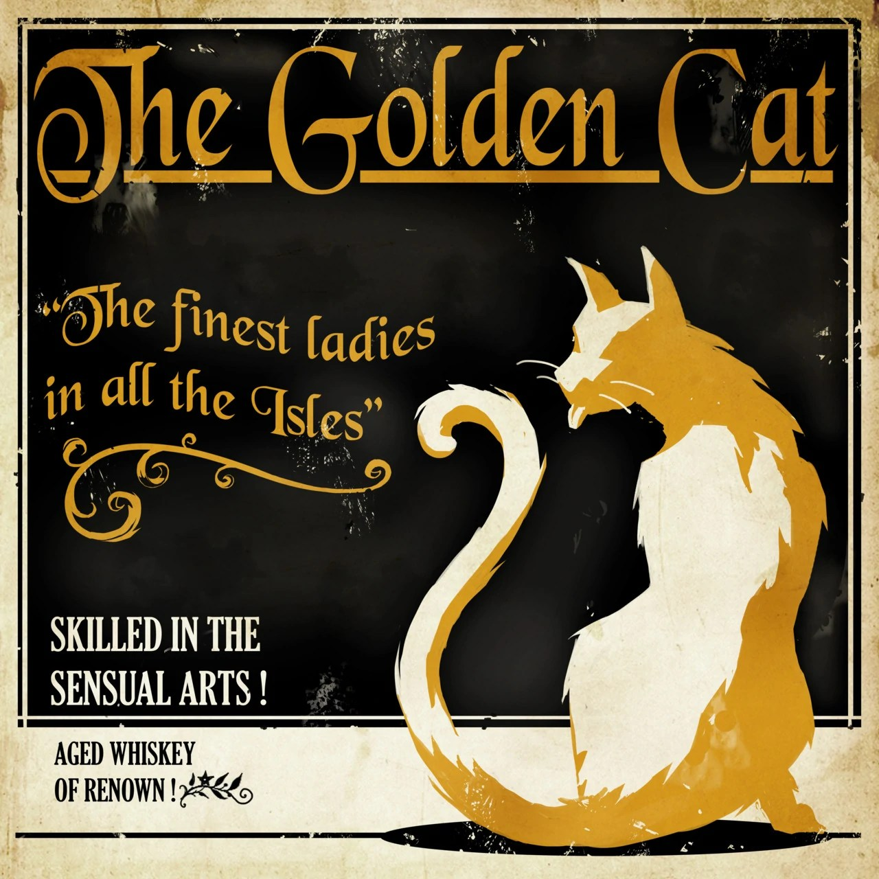 Dishonored Golden Cat