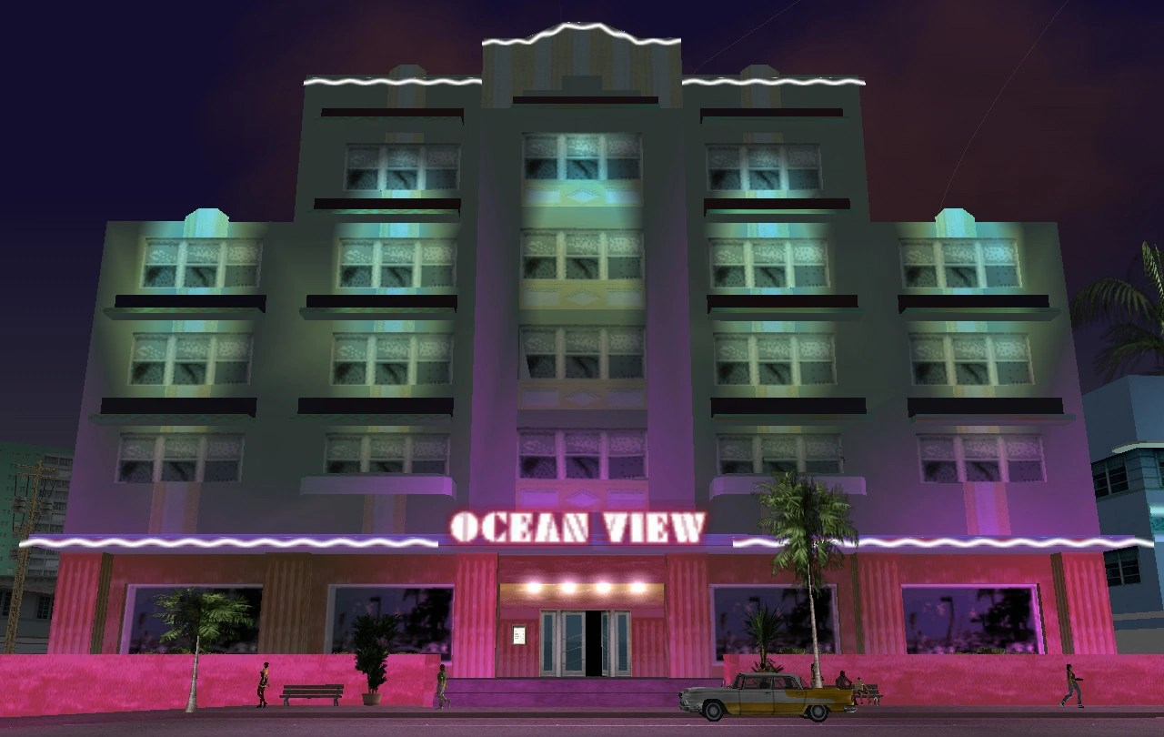 GTA Vice City Houses