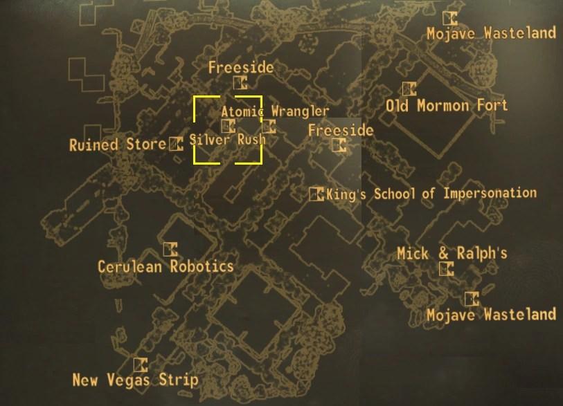 Image Silver Rush Mappng Fallout Wiki Fandom