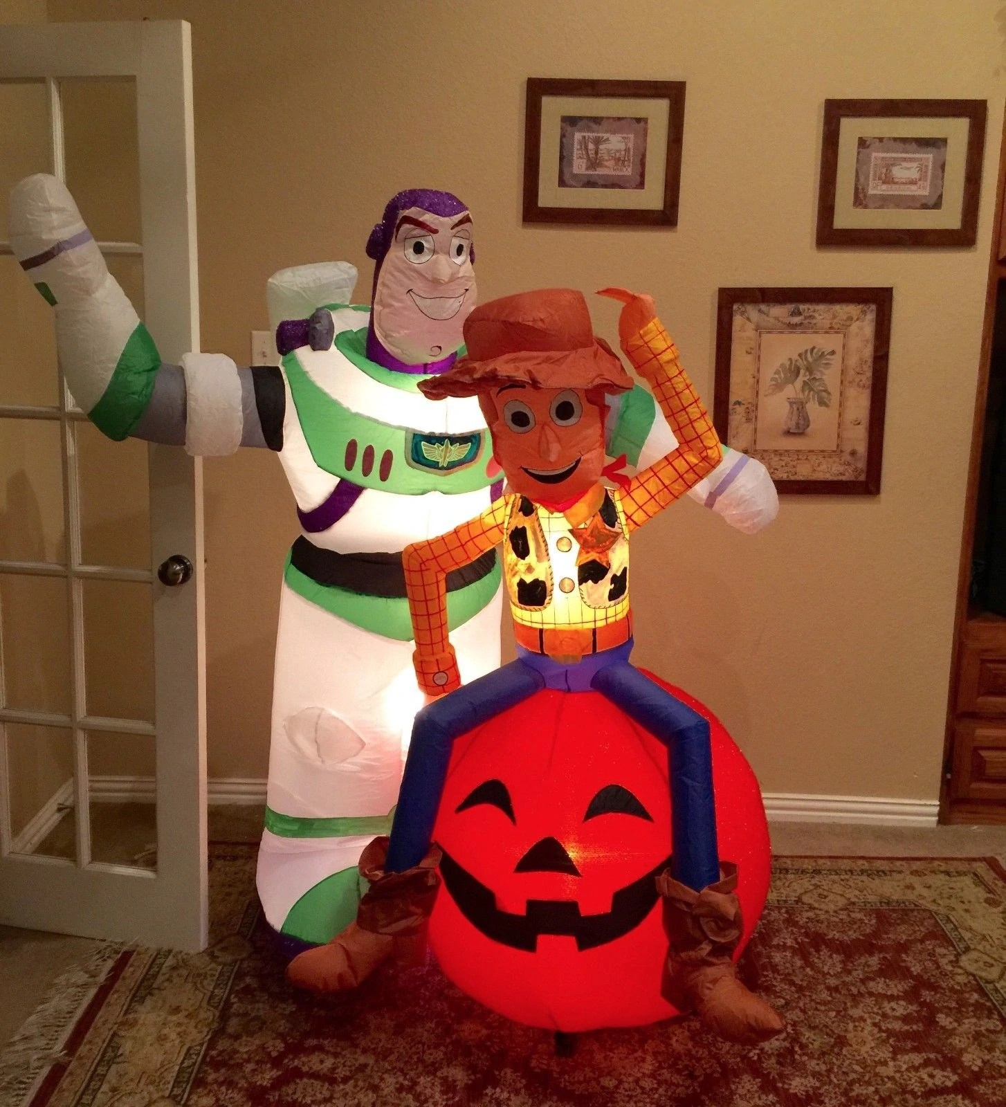 Image Gemmy Prototype Halloween Toy Story Woody Buzz