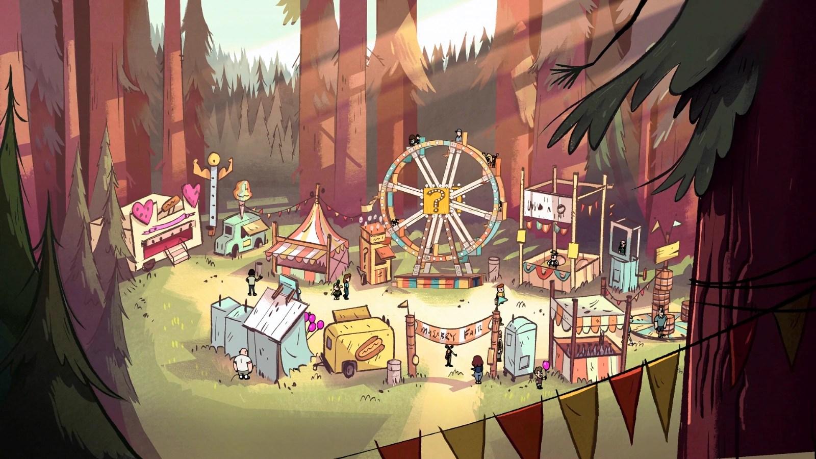 Gravity Falls Mystery Shack Wallpaper Mystery Fair Gravity Falls Wiki Fandom Powered By Wikia