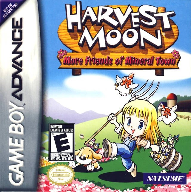 Harvest Moon More Friends Of Mineral Town The Harvest