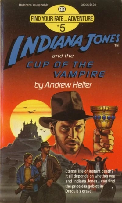 Indiana Jones and the Cup of the Vampire  Indiana Jones