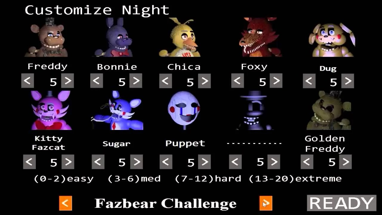 Custom Night The Return To Freddy's Wikia Fandom