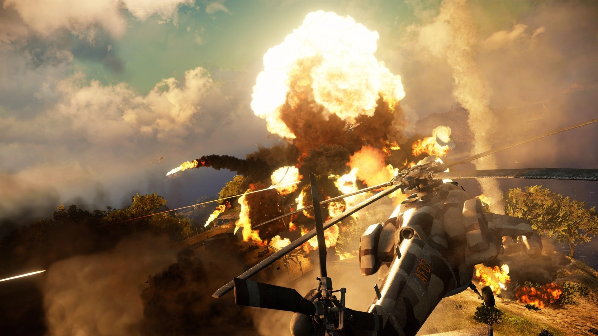 Image  Just Cause 3 helicopter and explosionpng  Just Cause Wiki  FANDOM powered by Wikia