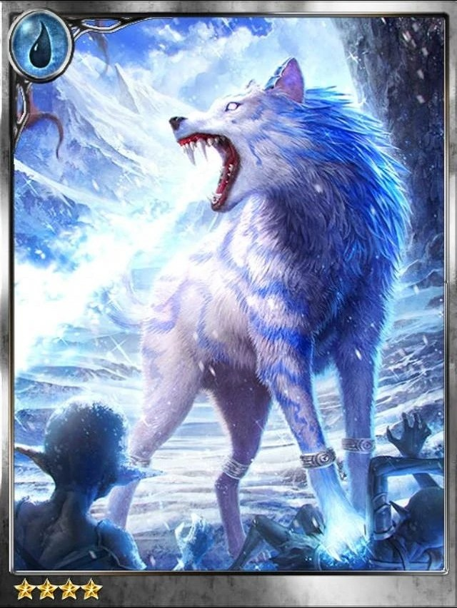 Ice Wolf 3d Wallpaper Icewolf Enraged Falk Legend Of The Cryptids Wiki