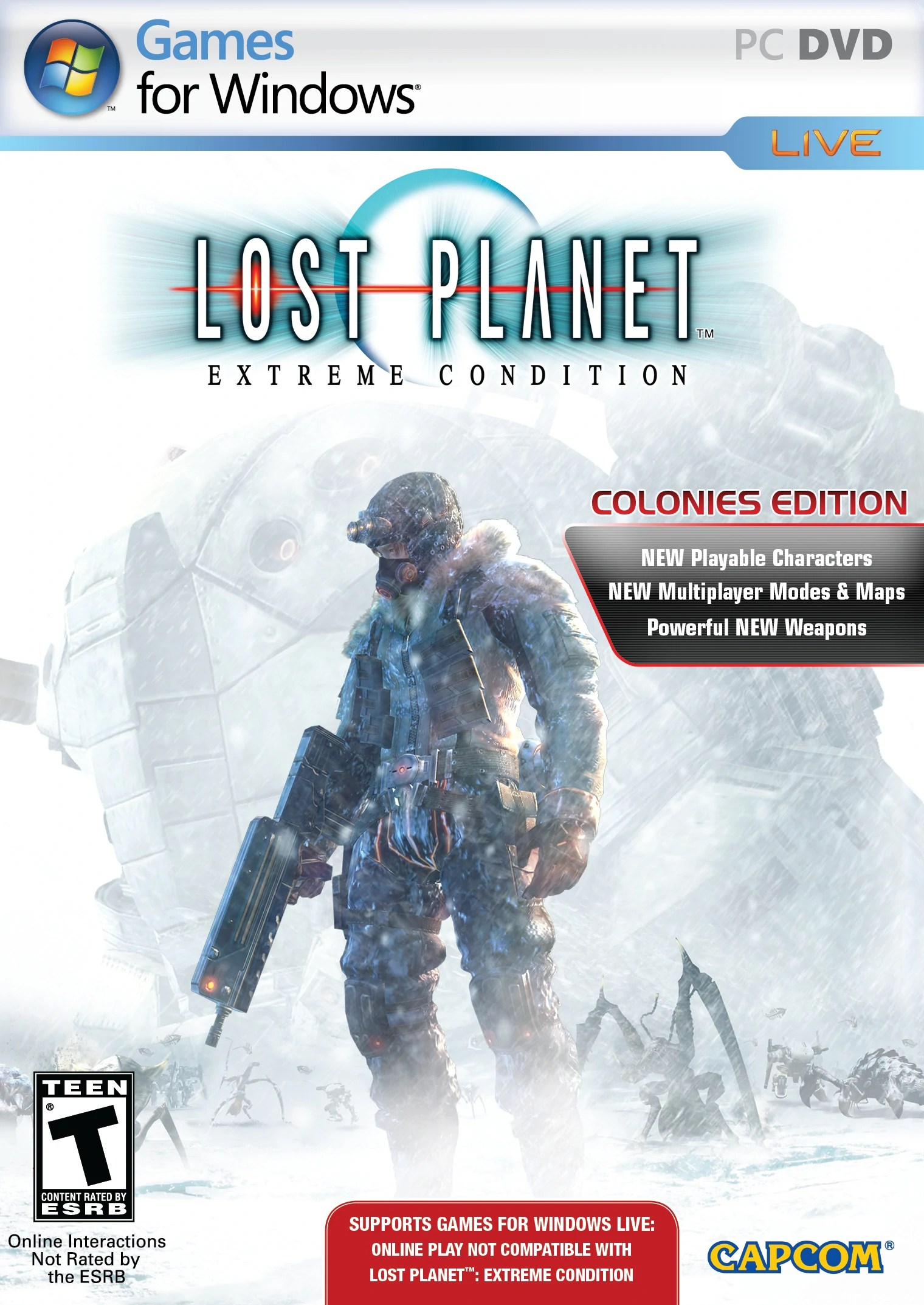 Lost Planet Extreme Condition Colonies Edition Lost