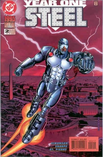 Steel Annual Vol 2 2  DC Database  FANDOM powered by Wikia