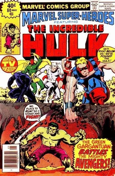 Marvel Super Heroes Vol 1 80 Marvel Database Fandom