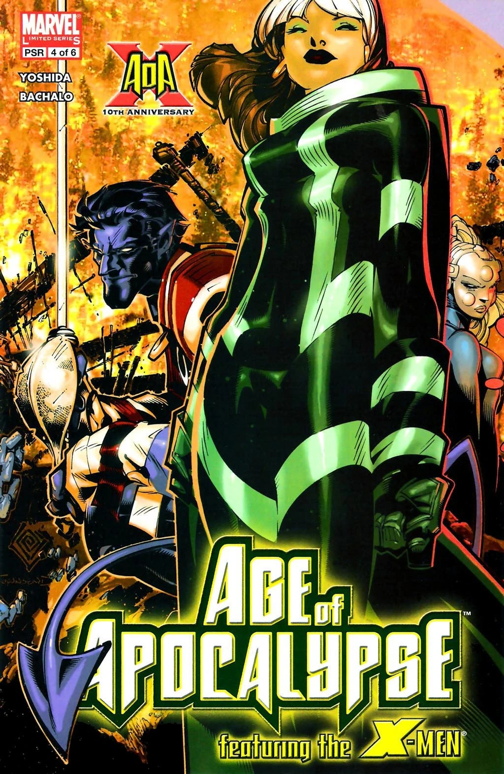 X Men Age Of Apocalypse Vol 1 4 Marvel Database FANDOM Powered By Wikia