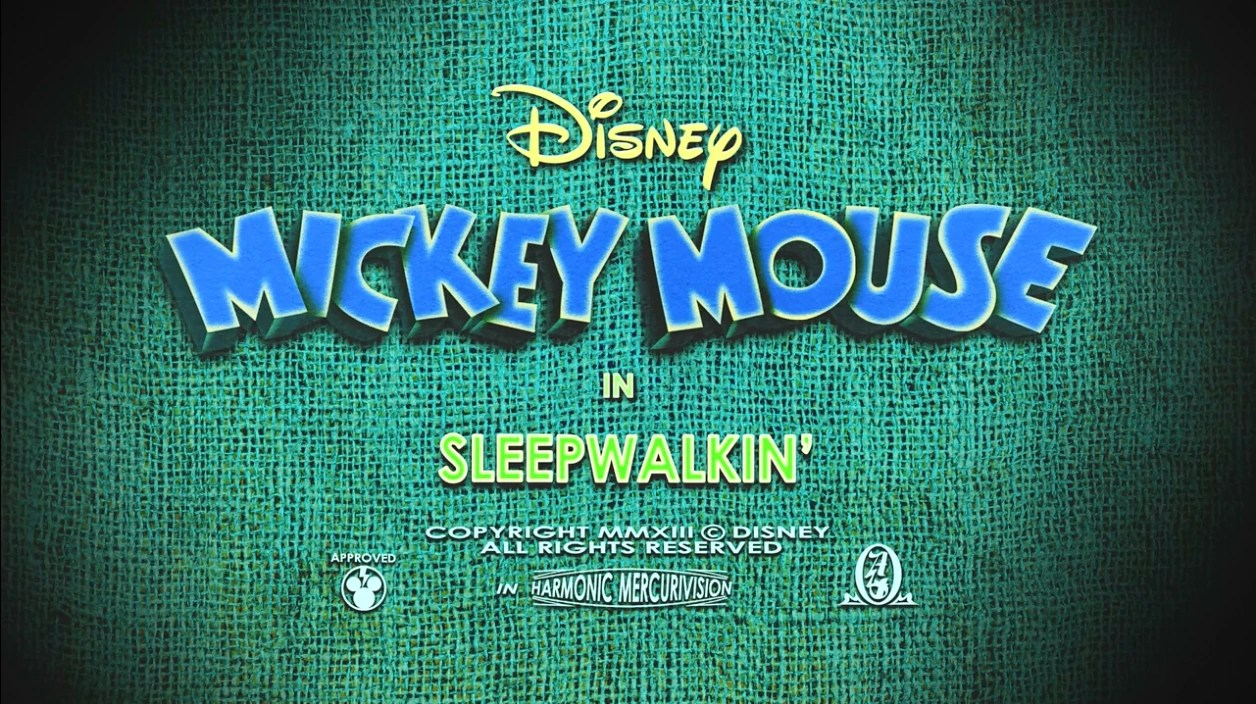 Sleepwalkin WikiMouse The Disney Mickey Mouse Wiki