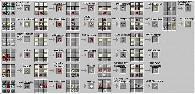 Image Crafting Iron Man Armors2 6319027jpg Minecraft