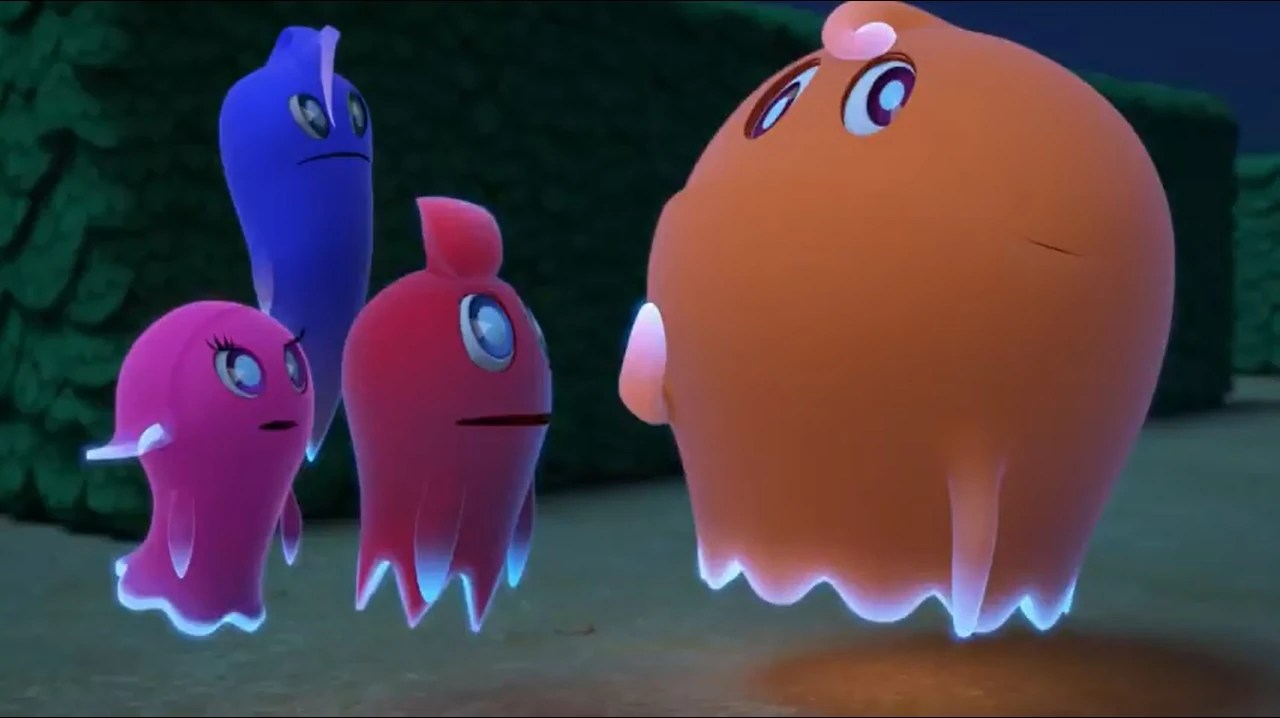 Clyde Pacman Ghostly Inky Adventures Pinky Blinky And