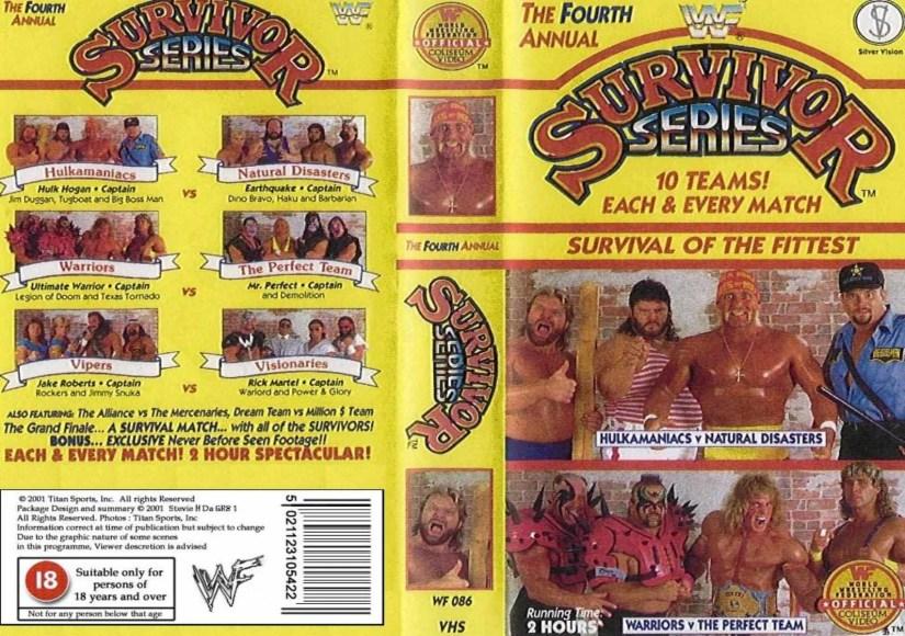 TJR Retro: WWE Survivor Series 1990 Review (The Undertaker Debuts) -  TJRWrestling - WWE, AEW News, TV Reviews, PPVs, More!