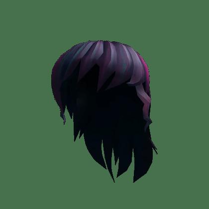 catalog black anime girl hair