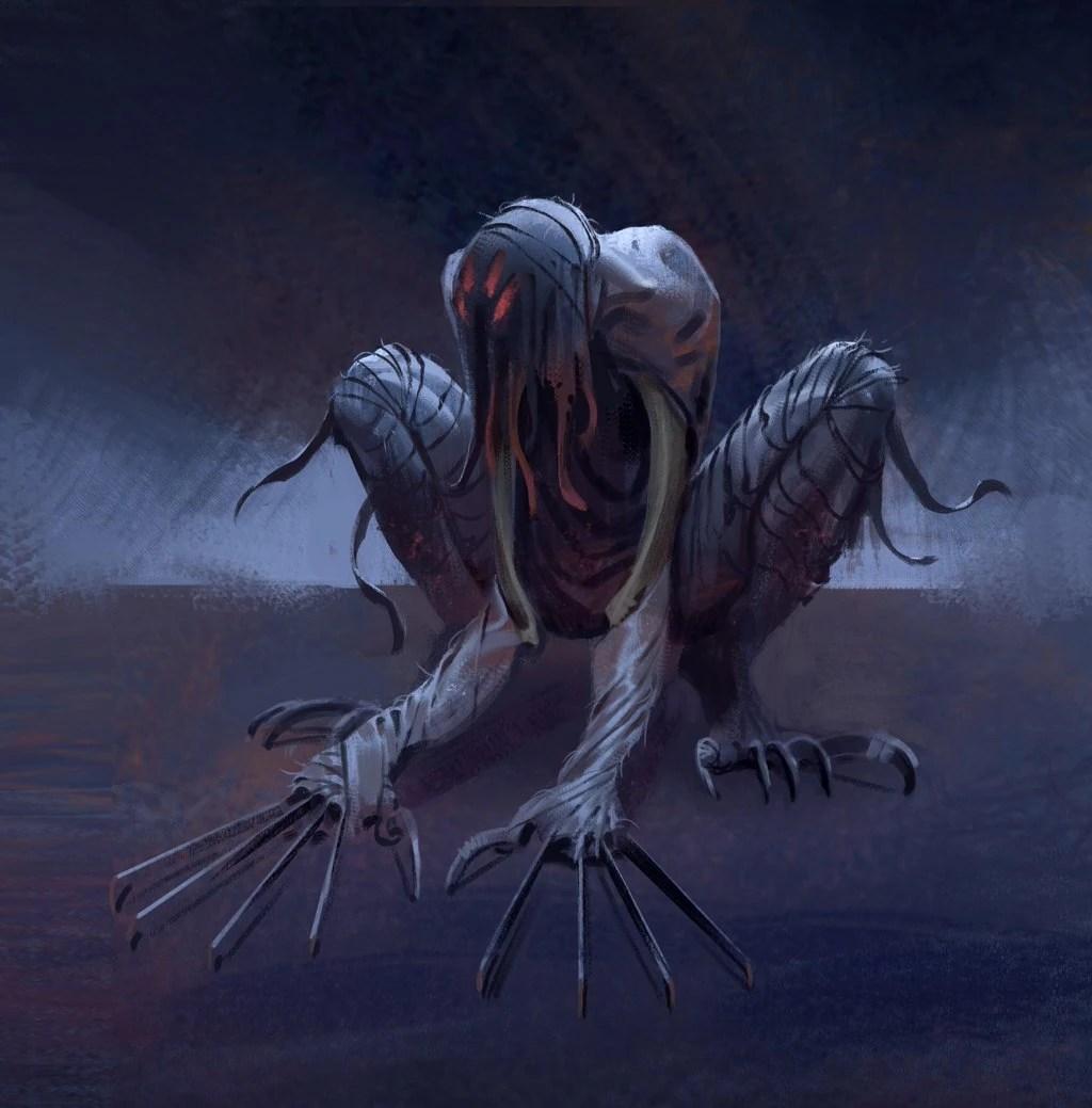 Demon Monster Concept Art