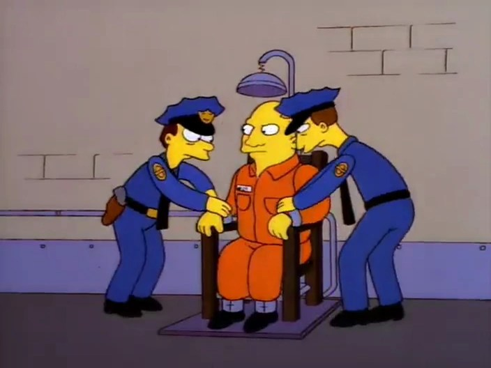 Convicted Man  Simpsons Wiki  FANDOM powered by Wikia