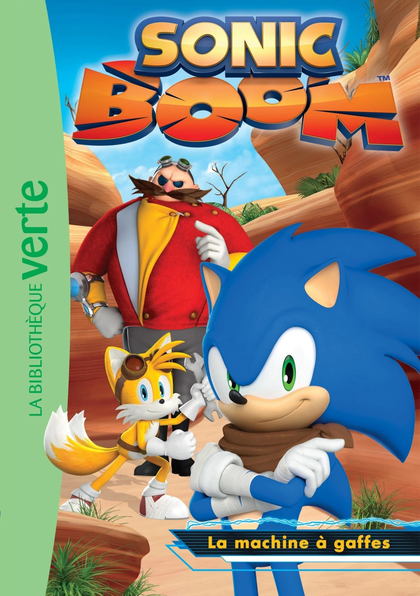 Sonic Boom 02 La machine à gaffes Sonic News Network