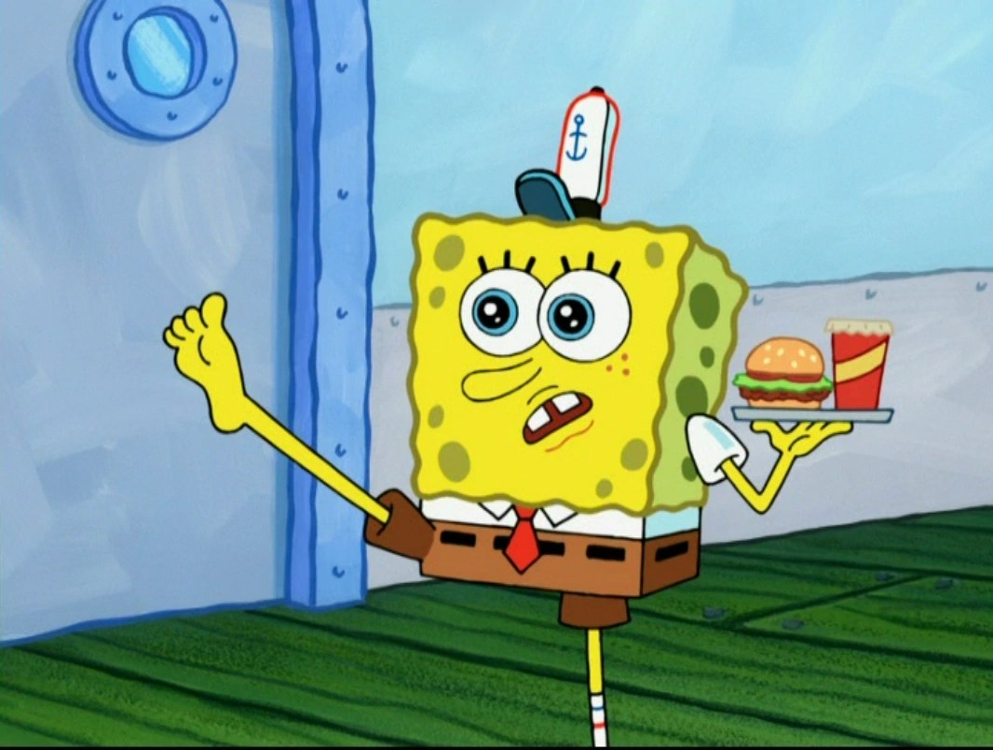 Spongebob Barefoot In Gullible