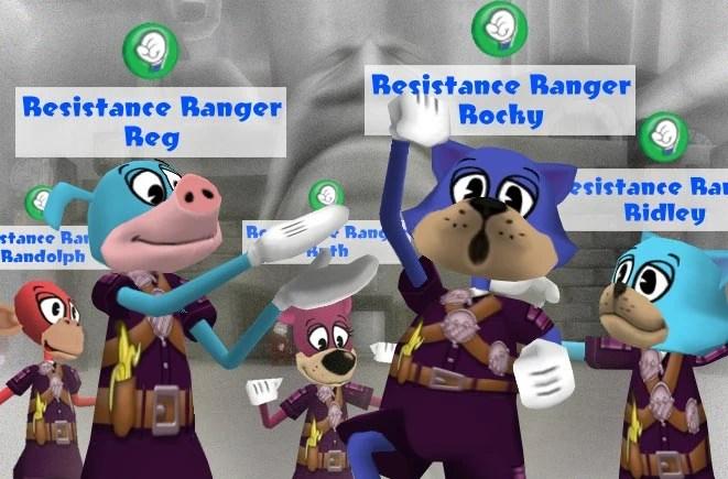 Resistance Rangers  Toontown Wiki  FANDOM powered by Wikia