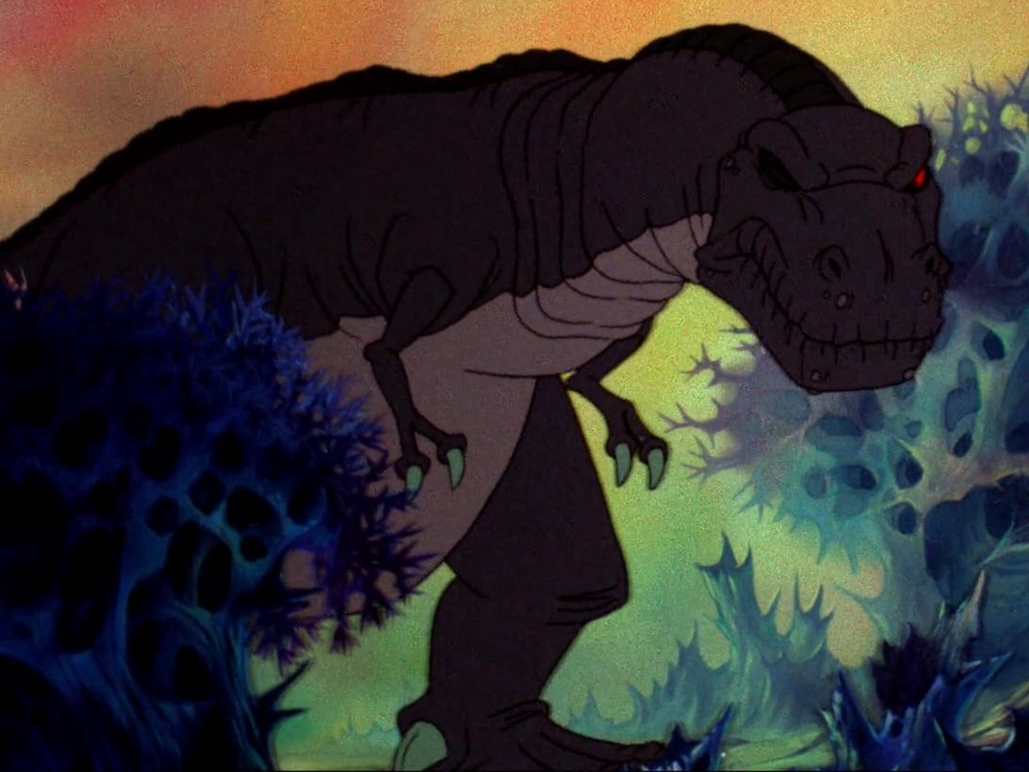 Land Before Time Sharptooth Saves - Year of Clean Water
