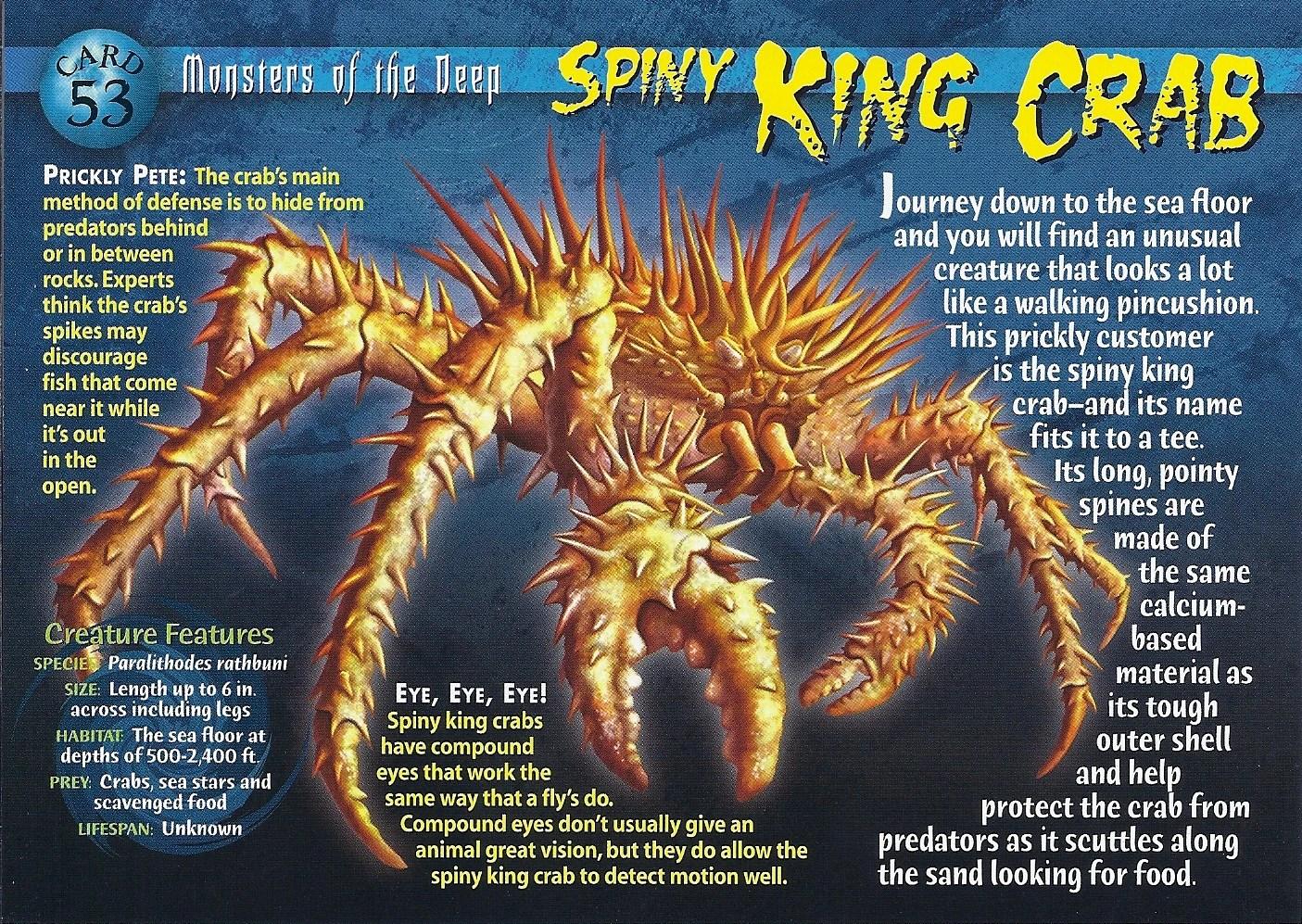 Spiny King Crab Wierd Nwild Creatures Wiki FANDOM