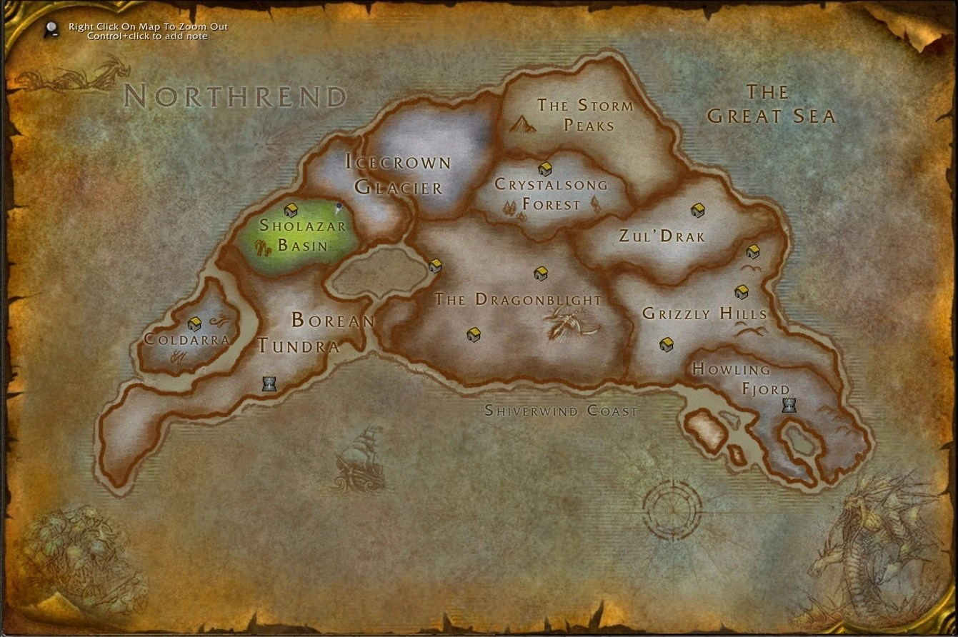 TalkWorld of Warcraft Wrath of the Lich KingArchive1