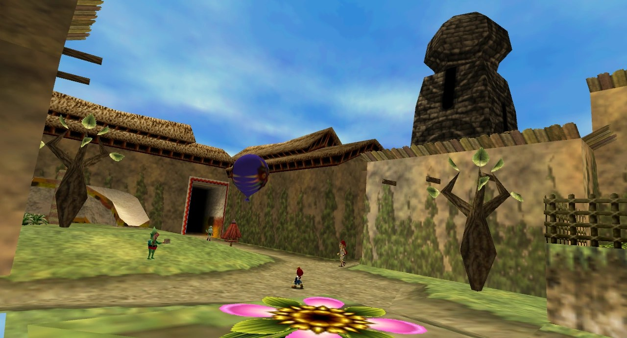 Zelda Ocarina Of Time 3d Wallpaper North Clock Town Zeldapedia Fandom Powered By Wikia