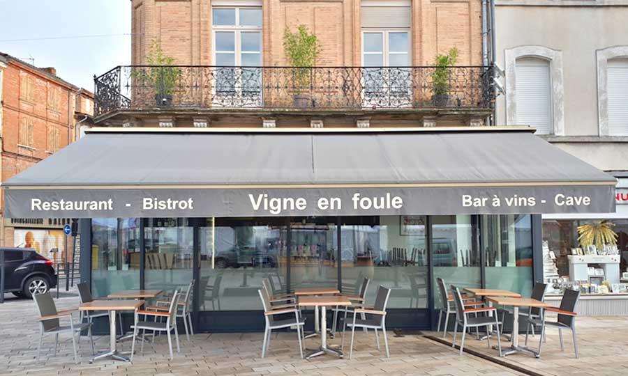 Restaurant Vigne en Foule