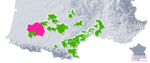 Vignoble des Côtes de Gascogne