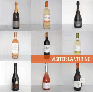 Vitrine des vins d'Occitanie