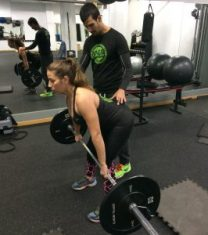 entrenamiento personal fuerza