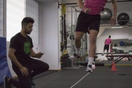 entrenamiento en jóvenes futbolistas