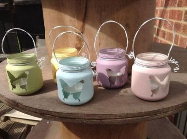 baby food jar upcycles