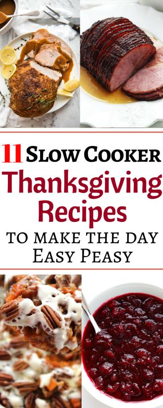 11 recettes de Thanksgiving à la mijoteuse, toutes dans votre mijoteuse