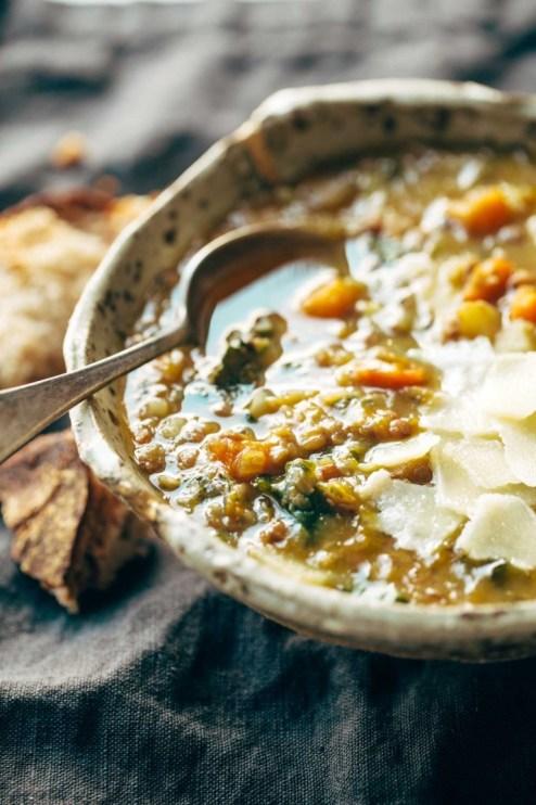 vegetairan slow cooker soups