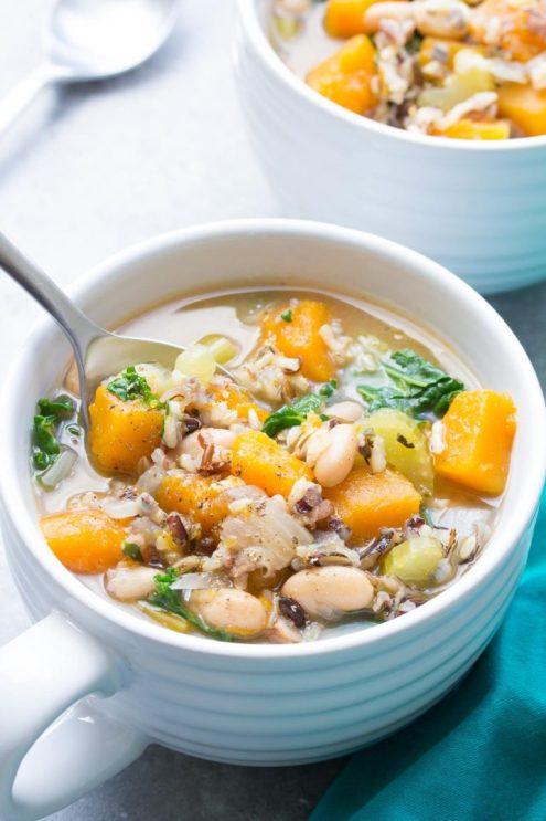 vegetarian slow cooker soups
