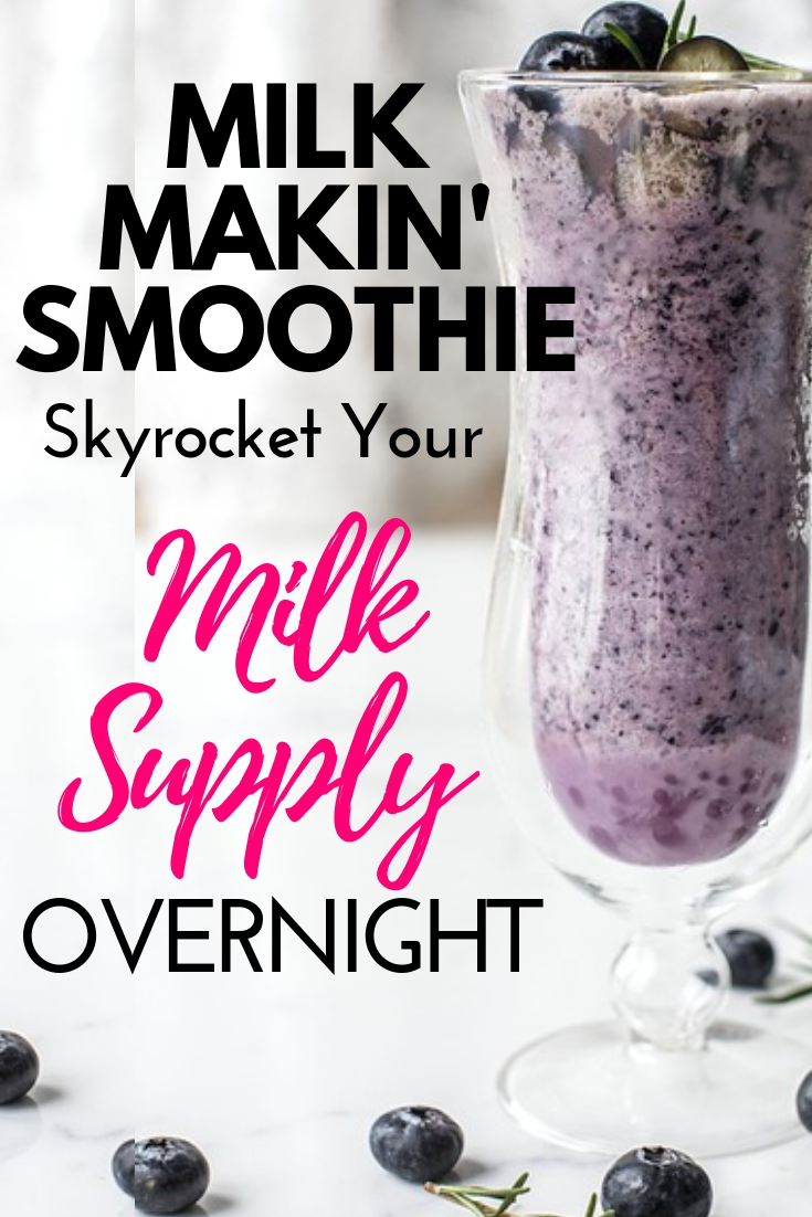 Healthy Lactation Smoothie For Breastfeeding Moms-5348