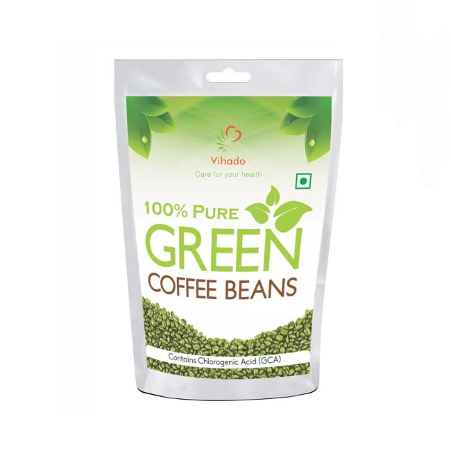 Vihado green coffee beans