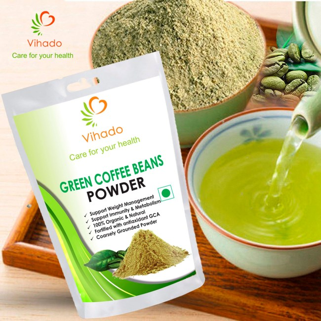 vihado green coffee beans powder