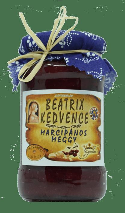 Beatrix kedvence - meggydzsem marcipánnal