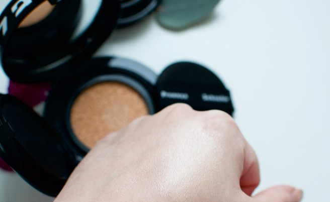 Lancôme Cushion Highligter swatch
