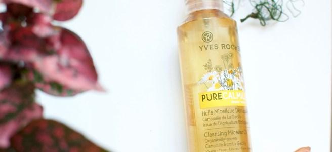 Yves Rocher Pure Calmille Micellar Cleansing Oil -puhdistusöljy kokemuksia