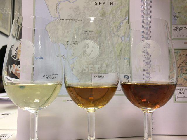 wset viinikurssi sherryt vertailussa