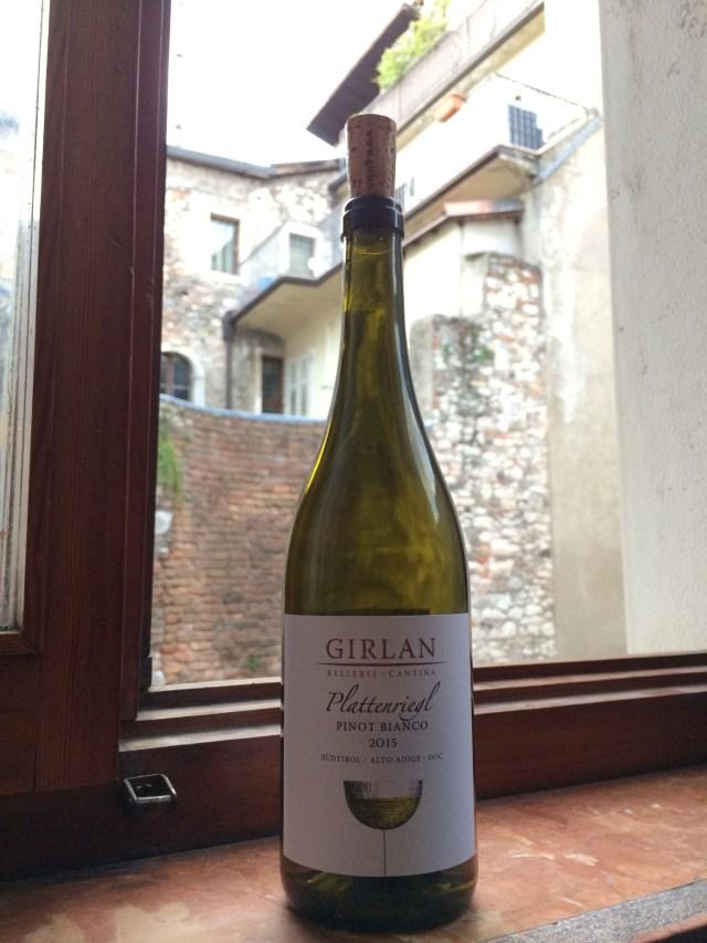 Italian valkoviinit Pinot Bianco