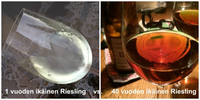 viinin väri Riesling