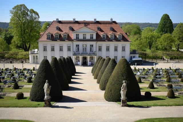 Schloss Wackerbath viinialue Sachsen
